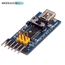 Basic Breakout Board For FTDI FT232RL USB To TTL Serial IC Adapter Converter Module For Arduino 3.3V 5V FT232 Switch