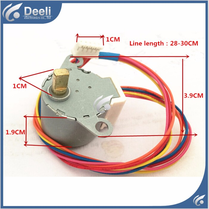 2PCS good working for Air conditioner control board motor 24BYJ48A = GAL12A-BD DC 12V motor <br><br>Aliexpress