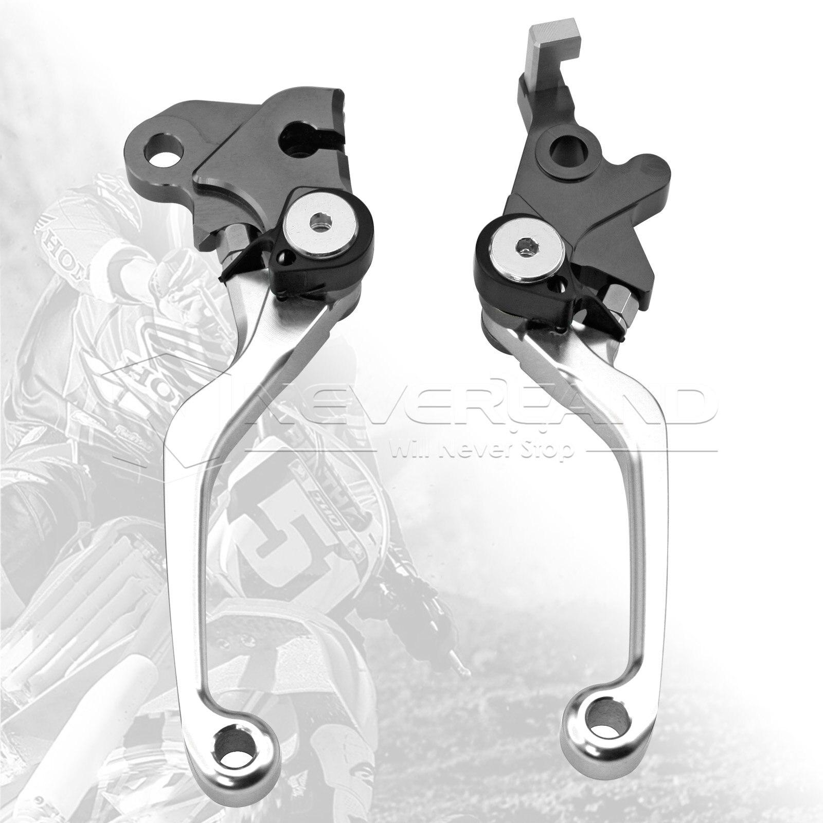 One Pair CNC Pivot Brake Clutch Levers For Honda SL230 1997-2004 XR230/MOTARD 2005-2012 L03K/R05K Silver D10<br><br>Aliexpress