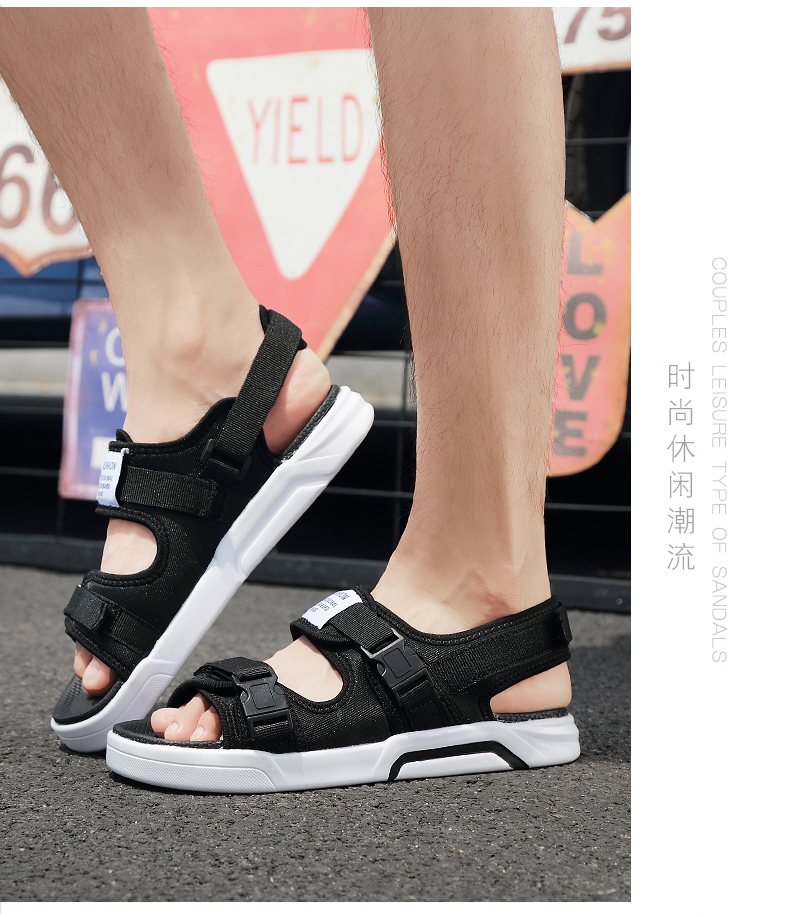 YRRFUOT Summer Big Size Fashion Men's Sandals Outdoor Hot Sale Trend Man Beach Shoes High Quality Non-slip Adult Flats Shoes 46 16 Online shopping Bangladesh