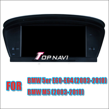 Free Shipping 8'' Wince Car Stereo For  E60 E61 E63 E64 2003-2010 / M5 2003-2010 for BMW With Multimedia Radio Bluetooth Map