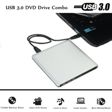 2017 Ultra Thin External USB 3.0 Enclosure for 9.5mm ODD SATA optical DVD Drive New External Replacement Drive For Laptop
