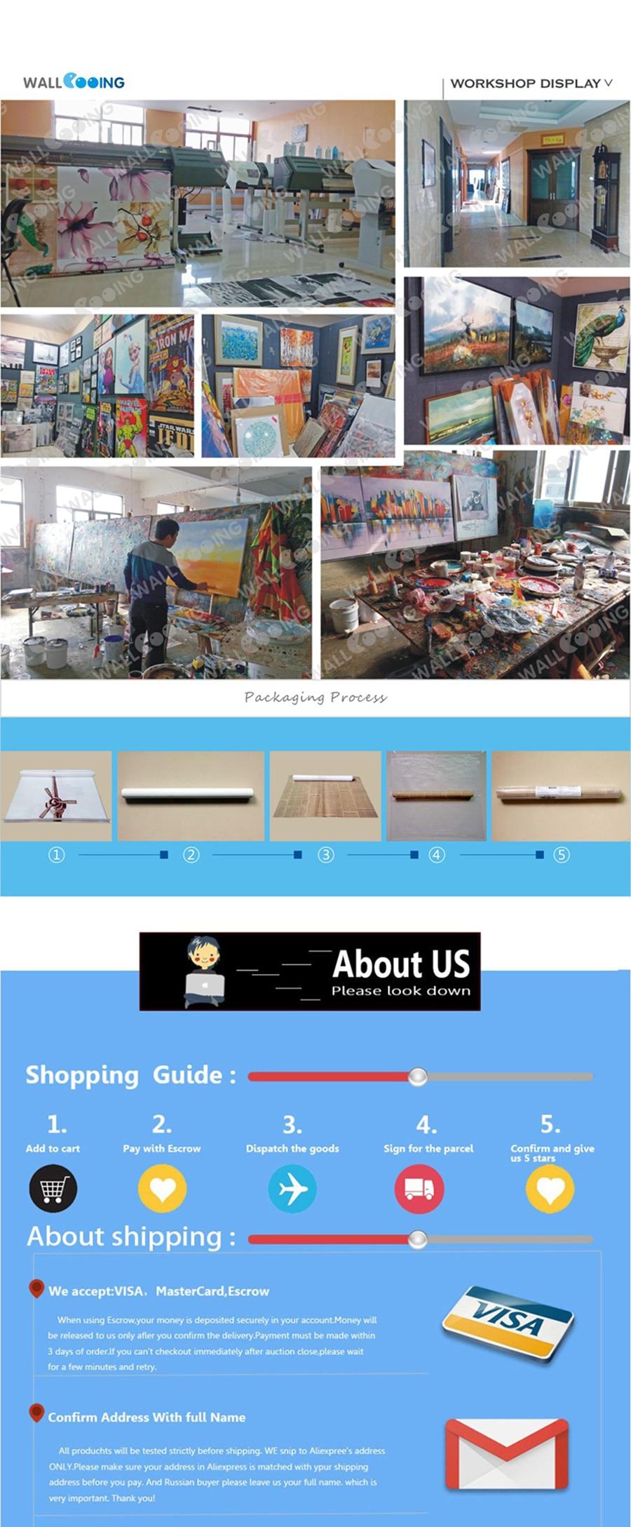 5-Production workshop and shopping process description