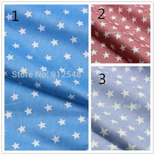 15122679 , 50cm*150cm ,Star twill cotton cloth, handmade cotton quilt child baby , Garment accessories material
