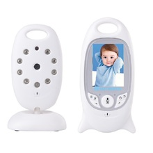 2.0 inch vigila bebes babysitter camera Spanish Menu IR Night vision 8 Lullabies Temperature monitor 2 way talk nanny vigilabebe