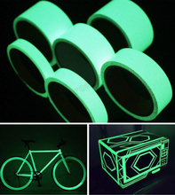 New Arrival Hot Sale Luminous Photoluminescent Tape Glow In The Dark Stage Home Decoration 10 Meters(China)