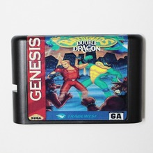 Battletoads And Double Dragon The Ultimate Team 16 bit MD Game Card For Sega Mega Drive For Genesis(China)