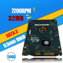 "A++++ 2.5"" 7mm thick 2.5 Inch ST500LM021 500GB 7200RPM 32M Cache SATA6Gbps Notebook Hard Drive SATA3 500G Laptop HDD"