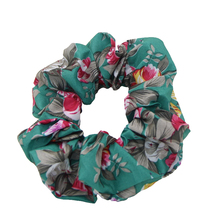 LOVINGSHA Floral Print Vintage Design Women Scrunchie Women Hair Tie Ponytail Elastic Hair Holder Rope Hair Accessories FCD093