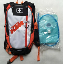 KTM climbing hiking bag motorcycle bike backpack Insulation storage bag with 2L water bag free shipping