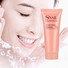 Snail Essence Face Cleansing Gel Hydrating Moisturizing Whitening Oil Control Scrub Exfoliating Facial Cleaning Cream Face Care(China)