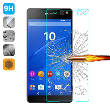 Popular Screen Protectors HD Tempered Glass for Sony Xperia C5 Ultra E5553 / Ultra Dual E5533 9H 2.5D Phone Glass Film Cover