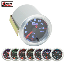 Buy Dragon Gauge Car 52mm turbine pressure Detect 7 Color Blacklight Auto Boost gauge Turbo Meter -30~30 Psi for $24.98 in AliExpress store