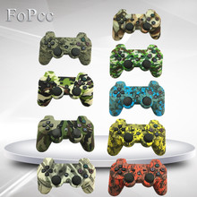 FoPcc 9 Fashion Design 2.4 GHz Wireless Bluetooth Game Joystick for PS3 Controller High Quality(China)
