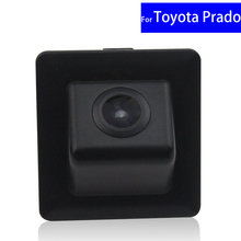 170 Degree Waterproof CCD Car Rear View Reverse Backup Camera for Car Monitor for Toyota Prado 2010 2011 2012~2016 Free Shipping