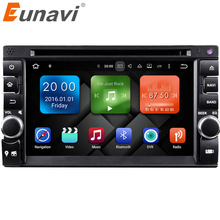 Eunavi 2G+32G 2 Din Android 6.0 Car PC double 2 din Audio 7'' GPS Navi Car Stereo Radio  mp3 Player Bluetooth iPod vw
