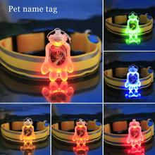 1Pc Popular Luminous Dog Pet LED Collar Flashing Light Collars Flash Night Safety Pet Supplies Chain Necklace A45(China)