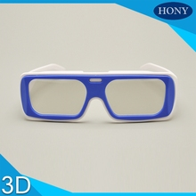 Free Shipping,10pcs Disposable 3D Glasses For Cinema Use With Cheap Price, Circular Polarized 3D Cinema Glasses for 3d theatre