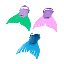 Cute Kid Children Monofin Mermaid Flippers Diving Swimming Fins Scuba Swim Fin Foot Flippers Monofin Water Sports Training Shoes