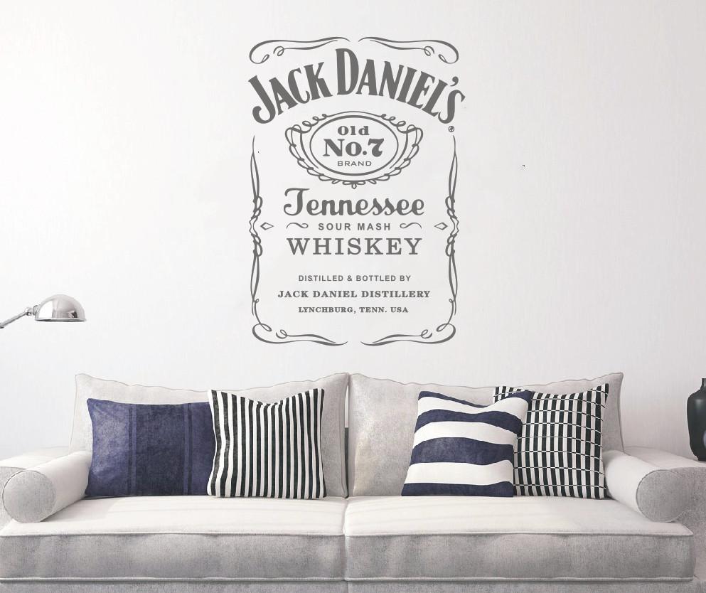 HTB1X8dcd9cqBKNjSZFgq6x kXXaY - YOYOYU Wall Decals Jack Daniels JD Wall Art Sticker