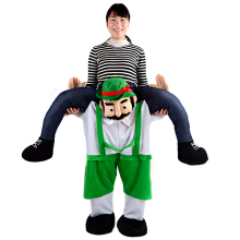 Carry Me Ride Teddy Bear Pants Costume Inflatable Big Mascots And Costumes Teddi Adults Anime Cosplay Cloth For Halloween Party