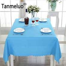 Polyester dining christmas tablecloth rectangular table cloth overlay table cover for wedding party decoration toalha de mesa(China)