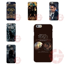 Soft TPU Silicon Phone Case For Apple iPhone 4 4S 5 5C SE 6 6S 7 7S Plus 4.7 5.5 Fantastic Beasts and Where to Find Them