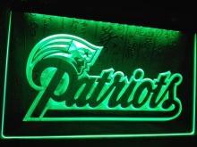 LD071- New England Patriots Soccer LED Neon Light Sign