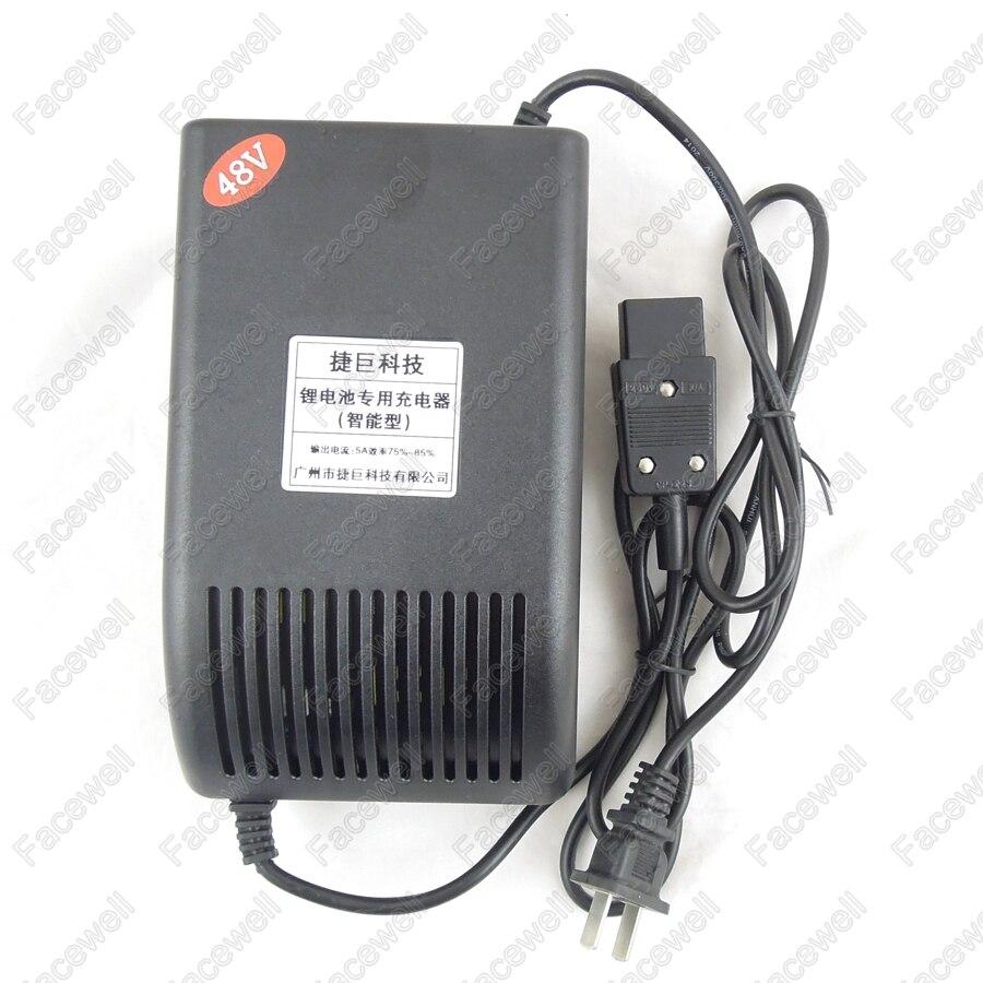 13 cells li-ion Battery Pack.AC110V//220V DC54.6V OUTPUT 48V 5A Charger for 48V
