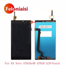 "Buy High 5.5"" Lenovo K4 Note A7010a48 A7010 Full Lcd Display Touch Screen Digitizer Panel Assembly Complete for $15.00 in AliExpress store"
