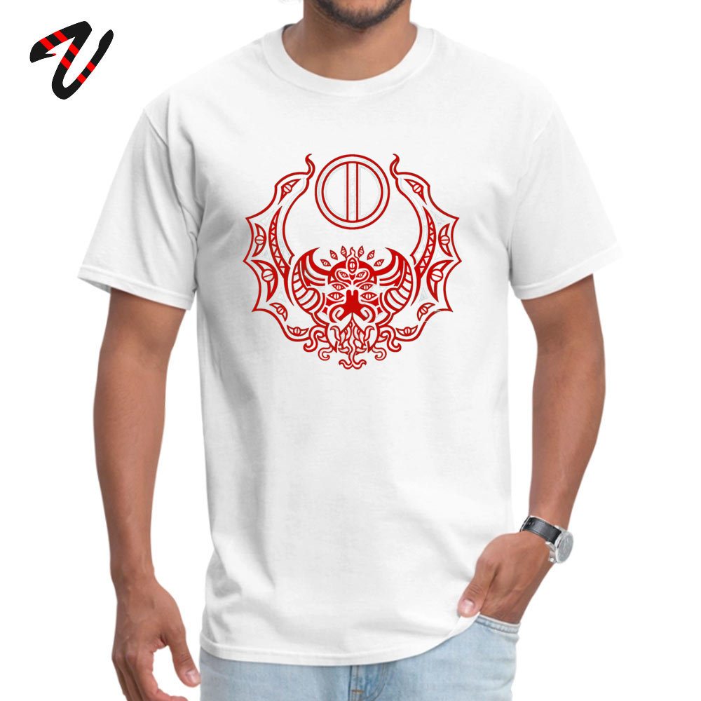 Men T Shirts Casual comfortable Tees 100% Cotton Fabric O-Neck Short Sleeve Family Tshirts Summer Drop Shipping The Crimson Bat Steed of the Red Goddess by Kalin Kadiev -500 white