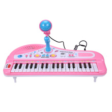Children's Toy Instrumentos Music 37 Keys Board Piano Musical Instruments With MP3 USB Play Microphone Girl Educational Toys
