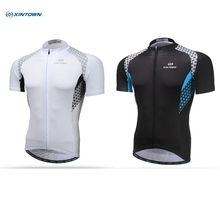 XINTOWN White Black Cycling Jersey Men's Clothing ciclismo ropa tops / bike bicycle MTB clothing jacket t-shirt - Bicycle World store