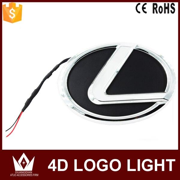 Guang Dian car led light Car Emblem light lamp 4d badge auto led logo light EL logo for GS300 For ES240 For ds350 car styling<br><br>Aliexpress