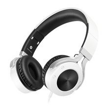 Stereo Lightweight Casque Headphones Headsets With Microphone Portable Foldable Earphones For Phone Computer MP3 I9