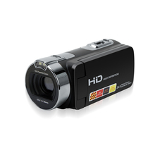 2017 Hight Quality New Digital Camera Full HD 1080P 16x Zoom Recorder Camcorder 3'' Touch DV DVR 24MP Video Camera(China)