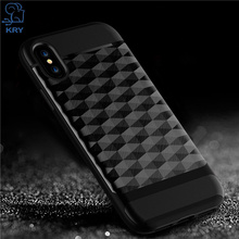 Buy KRY Phone Cases iPhone 8 Case Full Protective Soft TPU Hard PC Material Back Cover iphone 8 Case Anti-knock Cases for $2.99 in AliExpress store