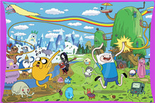 Hot New Best Nice Adventure Time With Finn Jake Rectangle Pillowcases zipper Custom Pillow Case 45x35cm(one side) SQ00729-@H0856