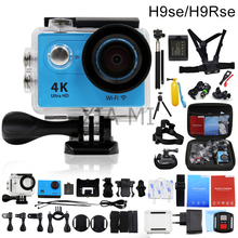 Original NUOYAREN H9se/H9Rse remote Action camera Ultra HD WiFi 4K/25FPS Helmet Cam go waterproof pro sport camera