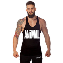 Animal Tank Top Men Fitness Apparel Mens Bodybuilding Clothes Stringer Gyms Clothing Sleeveless Men Vest Body Engineers Regata