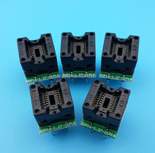 5Pcs SOP16 To DIP16 150mil Pitch 1.27mm Narrow Chip Programming Adapter IC Test Socket