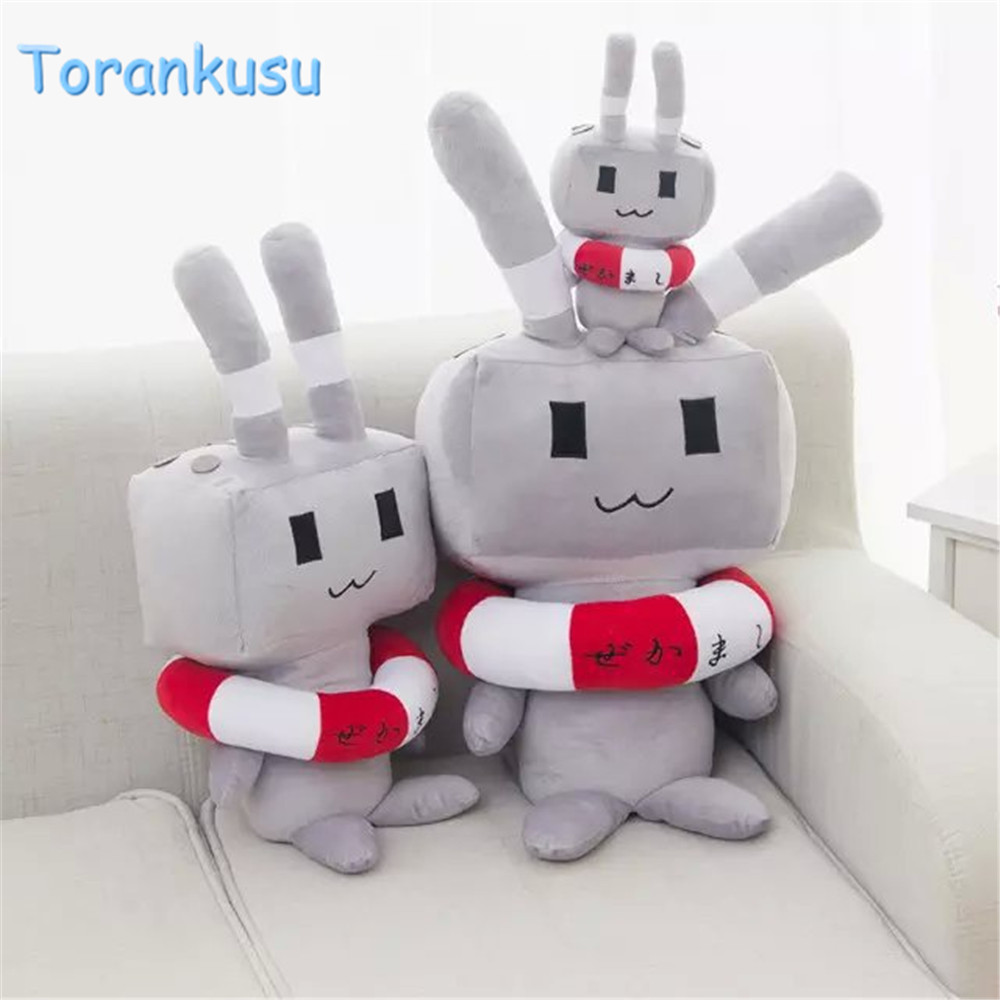anime Plush shimakaze bolster toys hand warm Doll Soft Stuffed plush pillow kids gift Kantai island wind toys for children