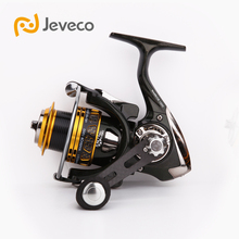 Jeveco Fishing Tackle Warrior Fishing reel,Carbon Fiber Handle Spool and Body, 10+1BB Reel Fishing, 1000 3000 Extremely Light