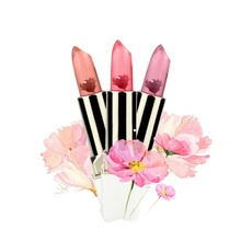 Women Lasting Rouge Waterproof Make Up Lip Stick  does not fade Skull And Lip Gloss Dry Flower Color Lipstick