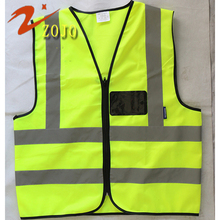Safevt Brand Vest Zojo Safety Clothing Factory Outlet Free Print Logo Reflective High Brightness Workplace Supplies V005