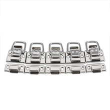 5pcs Chest Box Trunk Suitcase Trinket Tool Latch Clasp Chrome Toggle Latch For Chest Box Case Suitcase Tool Clasp