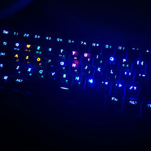 Cherry MX Keycaps Backlight PBT 38 keys Double shot Translucidus Backlight Backlit Rinbow Keycaps for Mechanical Keyboard