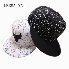 Brand Snapback hiphop Cap Men and Women gorro Adjustable Hip Hop Black Snap back Baseball Caps Brand Hats Gorras Hat(China)