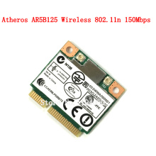 Original notebook computer  Wlan adapter Atheros AR5B125 wireless 802.11n 150Mbps Wifi half mini PCI-E card ASUS Dell Acer CARD