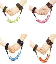 Toddler Baby Kids Safety Harness Child Leash Anti Lost Wrist Link Traction Rope Anti Lost Bracelet Baby Safet Length 1.5m / 2.5m(China)